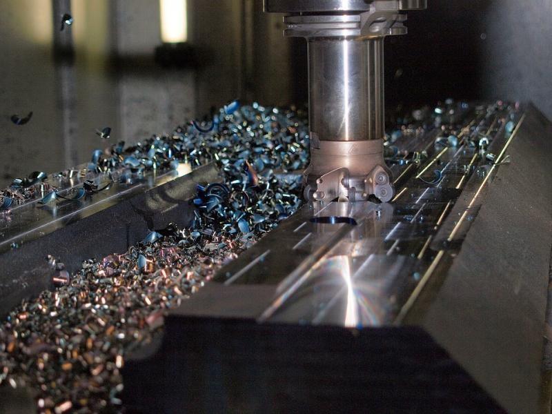 Manutenção e usinagem