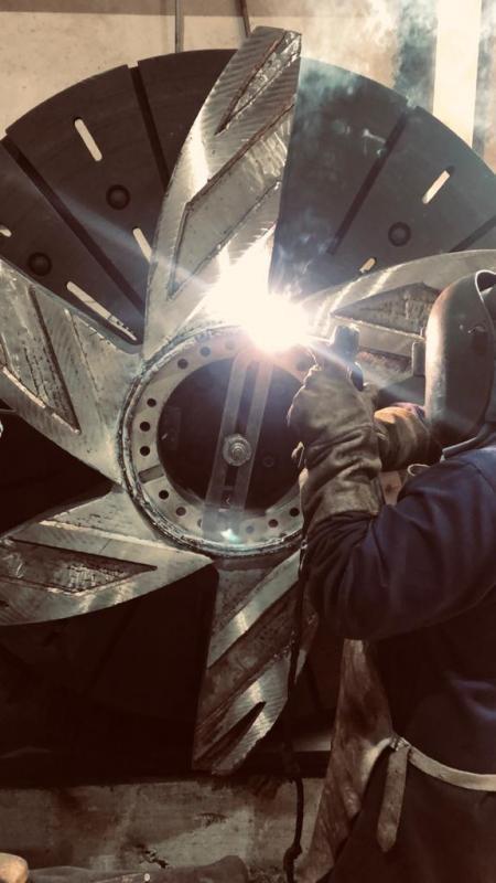 Metalização industrial