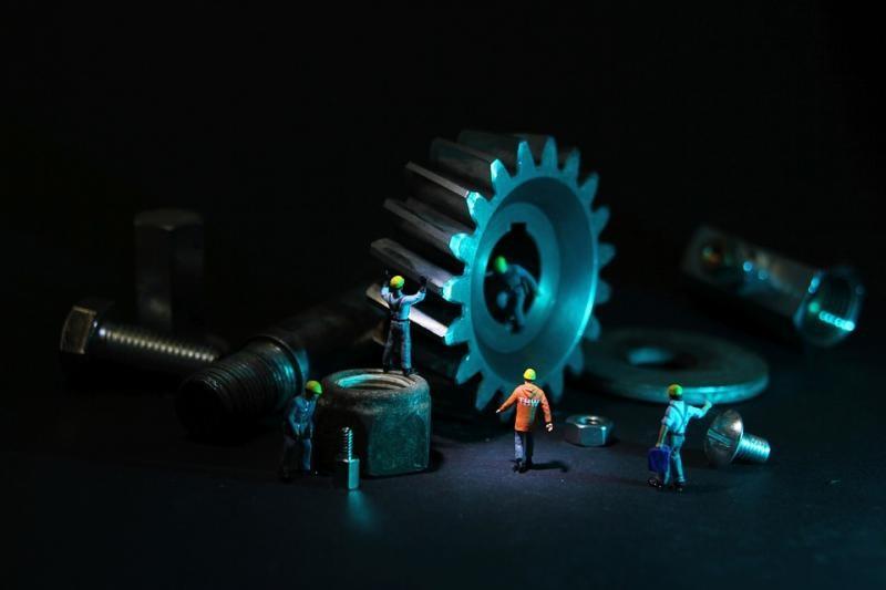 Montagem e desmontagem industrial