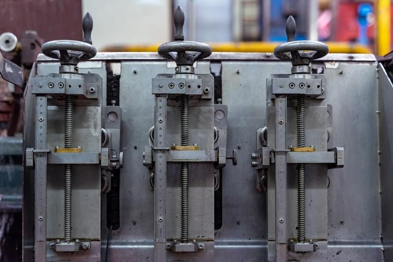 Montagem industrial de máquinas