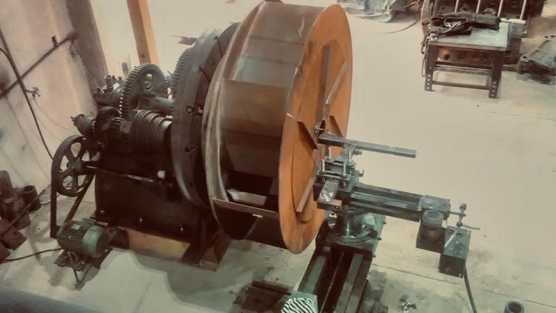 Usinagem de peças grandes
