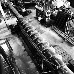 Usinagem de peças de grande porte